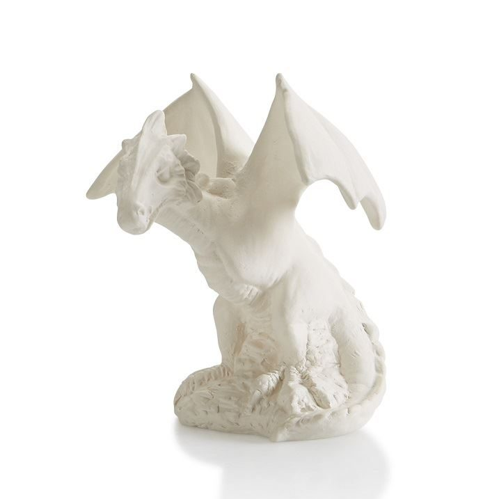 7467 Realistic Dragon Party Animal- unpainted