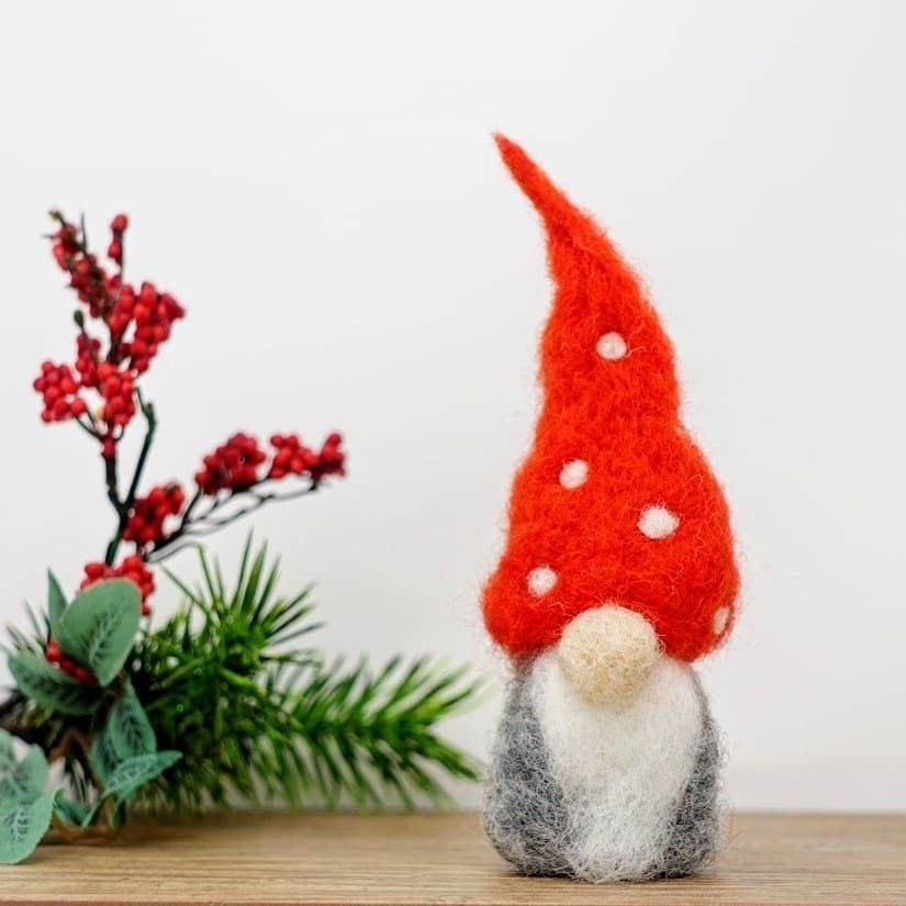 Nordic Gnomes Needle Felting Kit GNOME