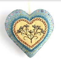 Embroidered Heart- Embroidery Kit