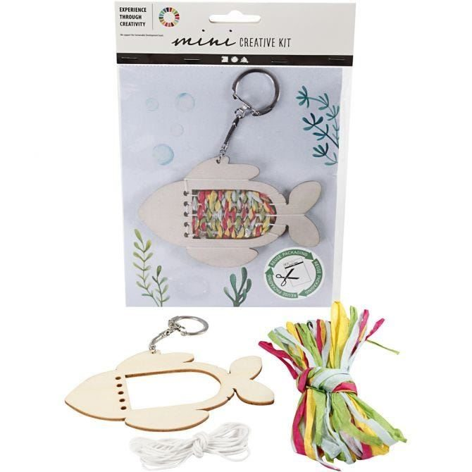 CH977364 Mini Creative Craft Kit - Fish, front and content