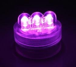 LED Purple Twist Light