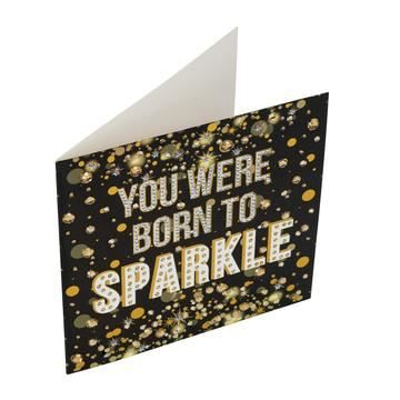 CCK-A20 Born to Sparkle Crystal Art Card Kit complete