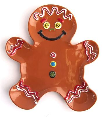 5136 Gingerbread Plate