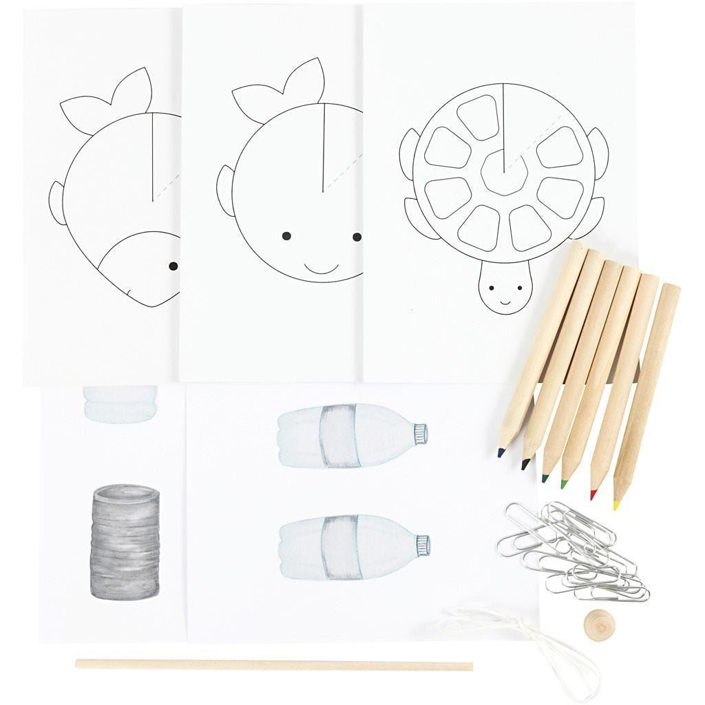 CH977361 Mini Creative Craft Kit - Fishing Game contents
