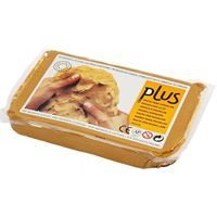 CH789020 Self Hardening Modelling Air Dry Clay - Curry 1kg