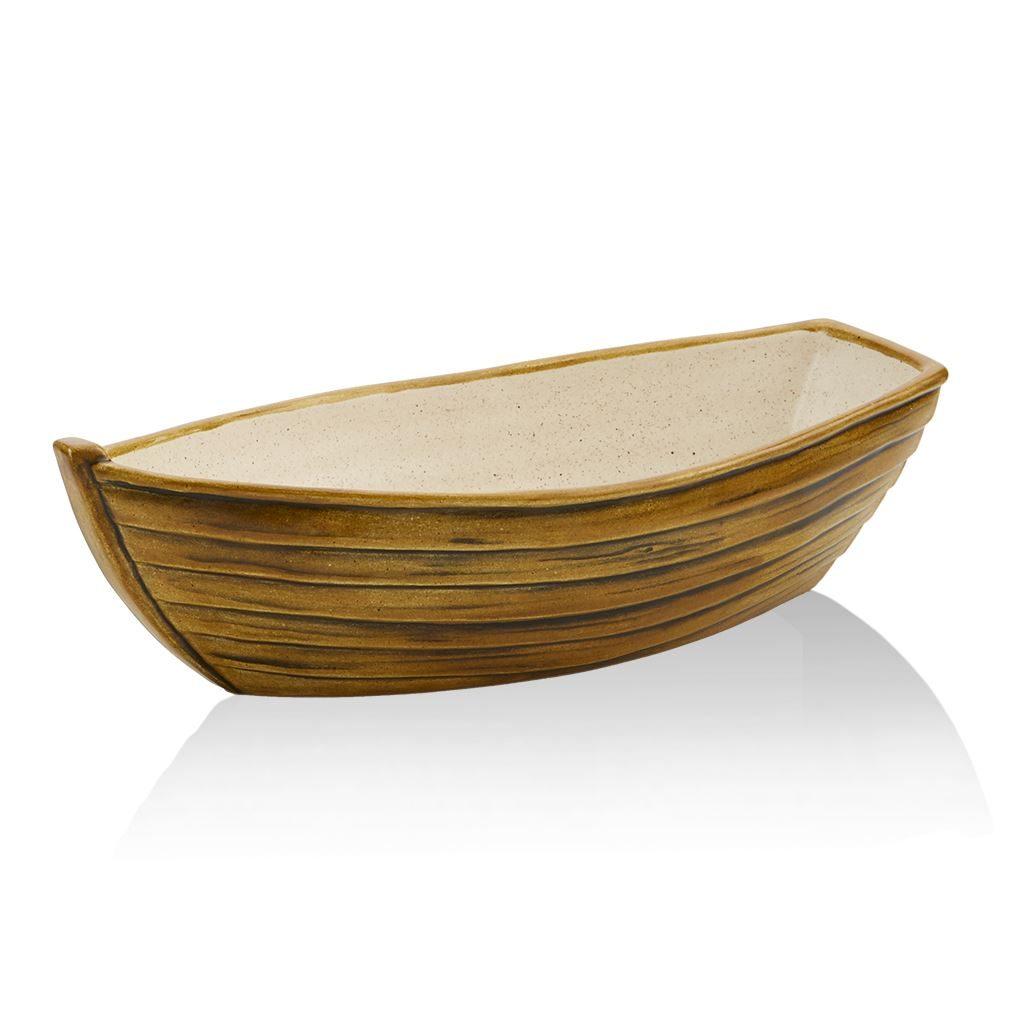 2155 Boat Bowl Brown
