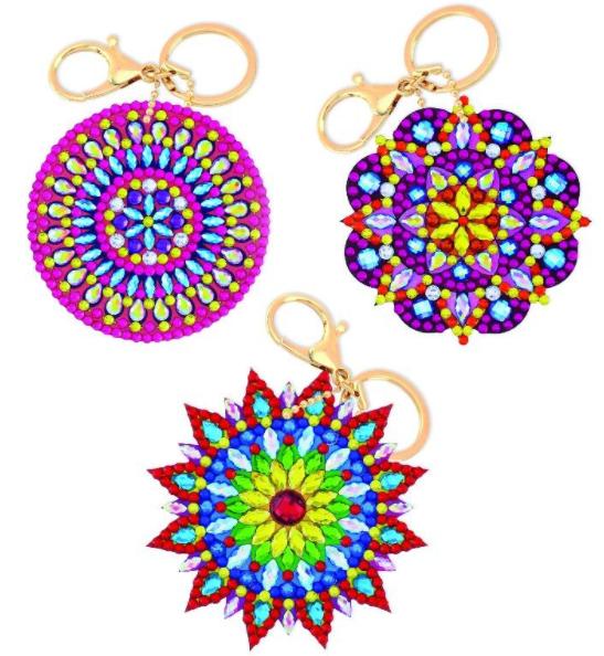 Mandala Keyrings