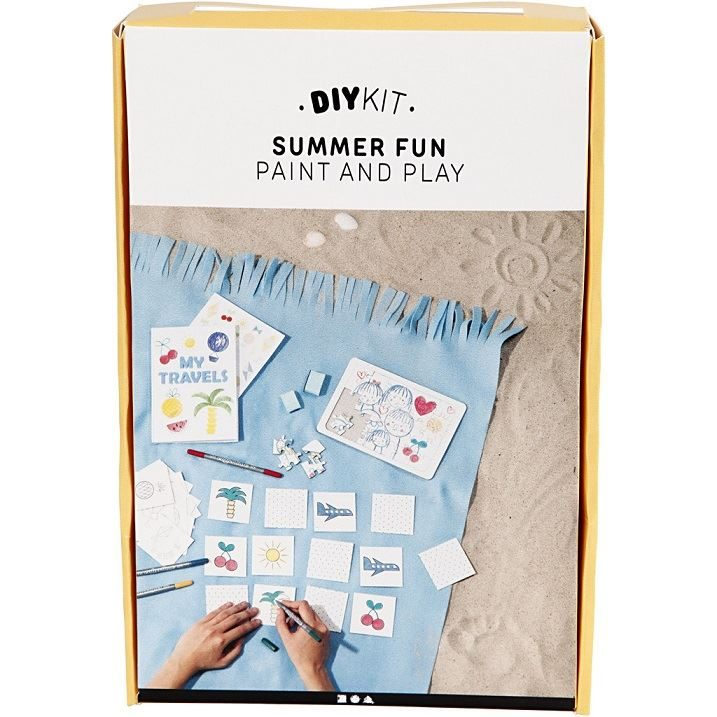 CH97067 DIY Paper  Kit- Summer Fun Paint and Play outer