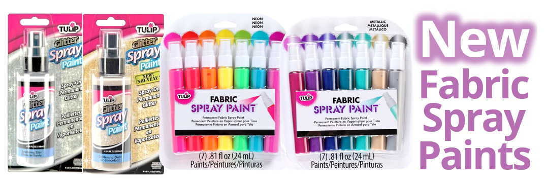 New Fabric Paints from Tulip
