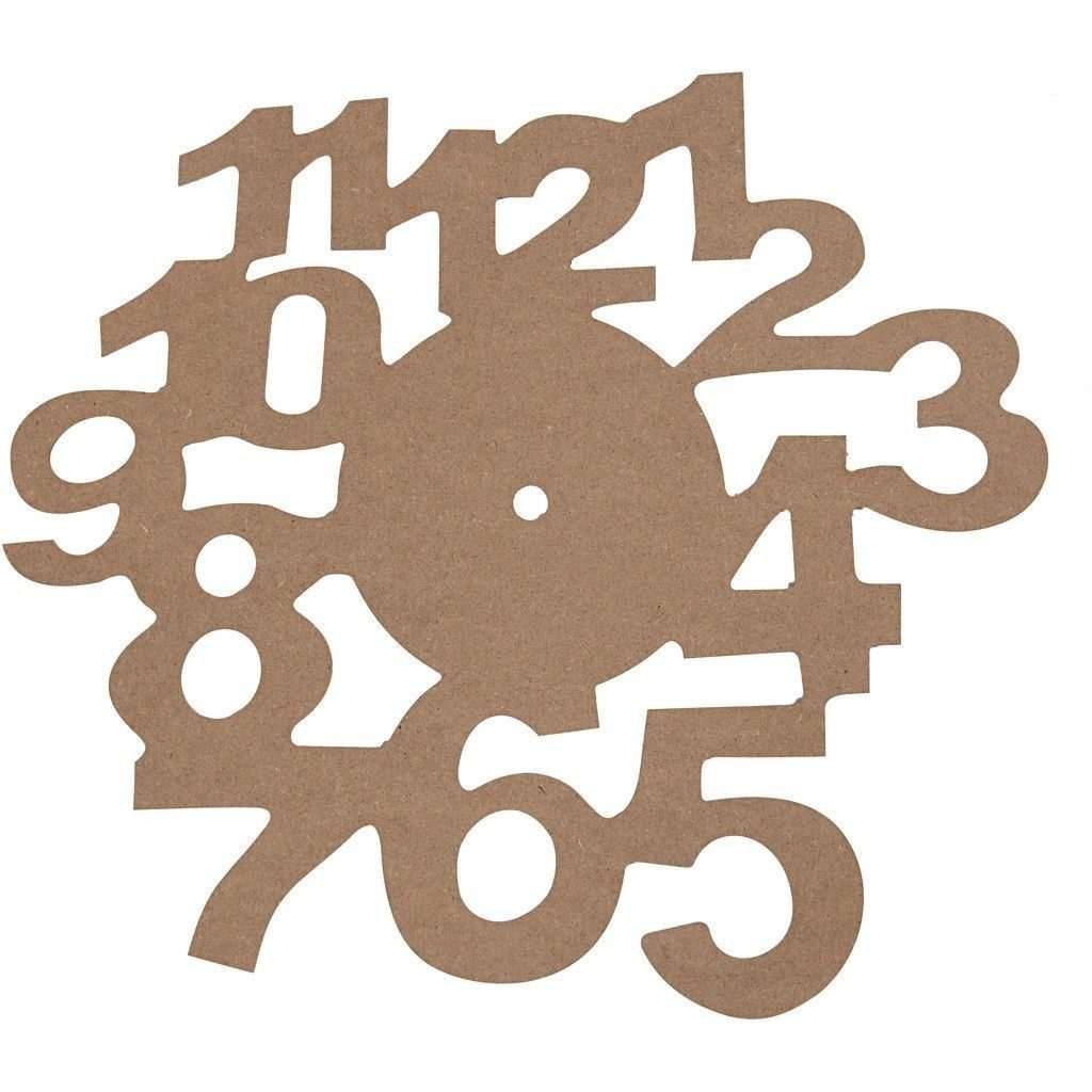 56115 Face Dial Wooden Arts & Crafts