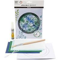 CH977362 Mini Creative Craft Kit - Sun Catcher- front and contents