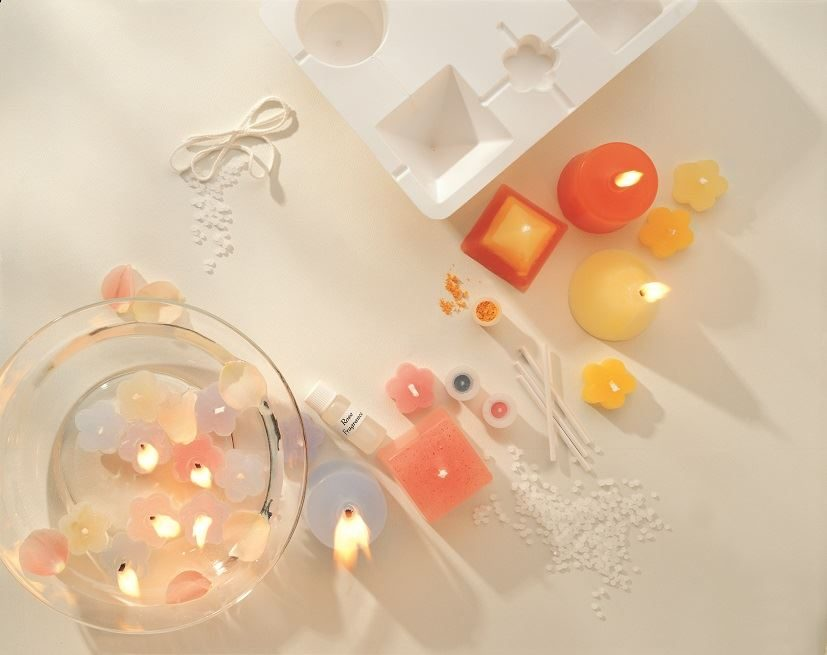 Candle Making Craft Kit contents