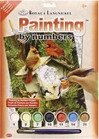 Native Neighbours - Junior Painting by Numbers Kit PJS70