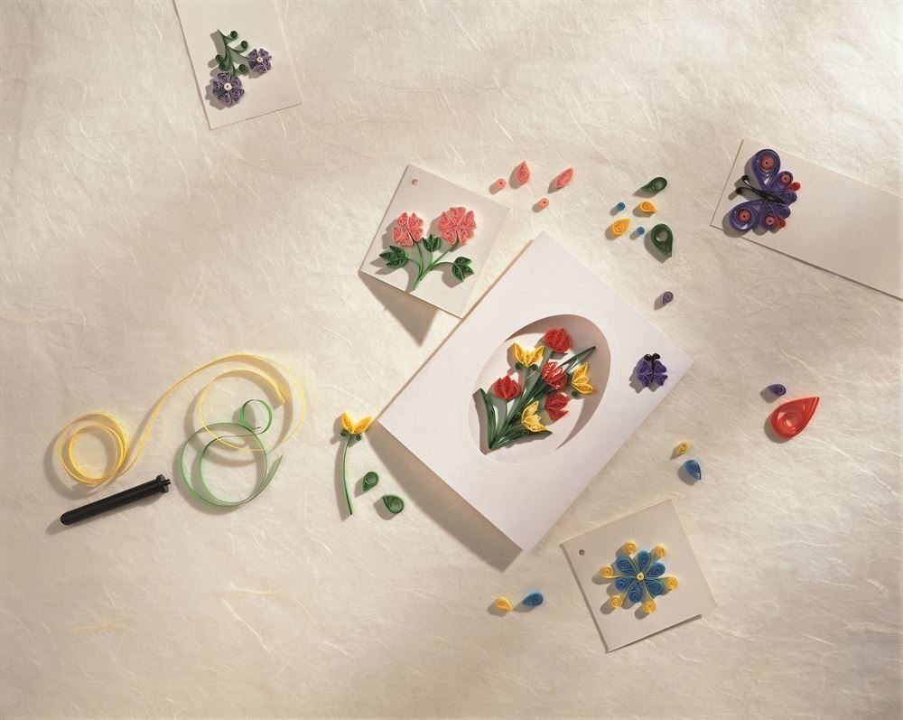 Quilling Craft Kit contents