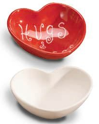 "HEART CANDY BOWL 5.5""D"
