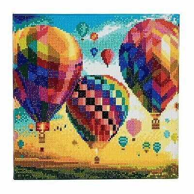 CAK-A46 Hot Air Balloons Crystal Art Kit image