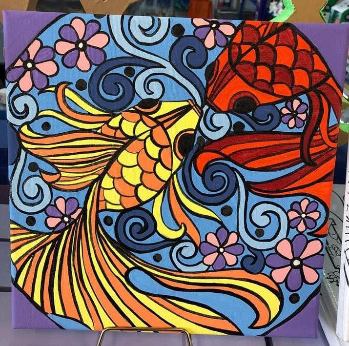 Fish Canvas Art