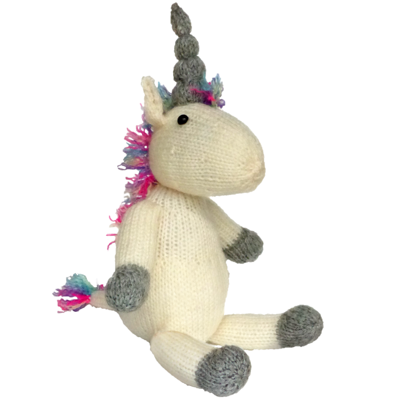 Knitted Unicorn Knitting Kit