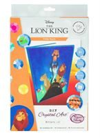 CANJ-DNY600 Lion King Pride Rock Disney Crystal Art Notebook Kit (packaging)