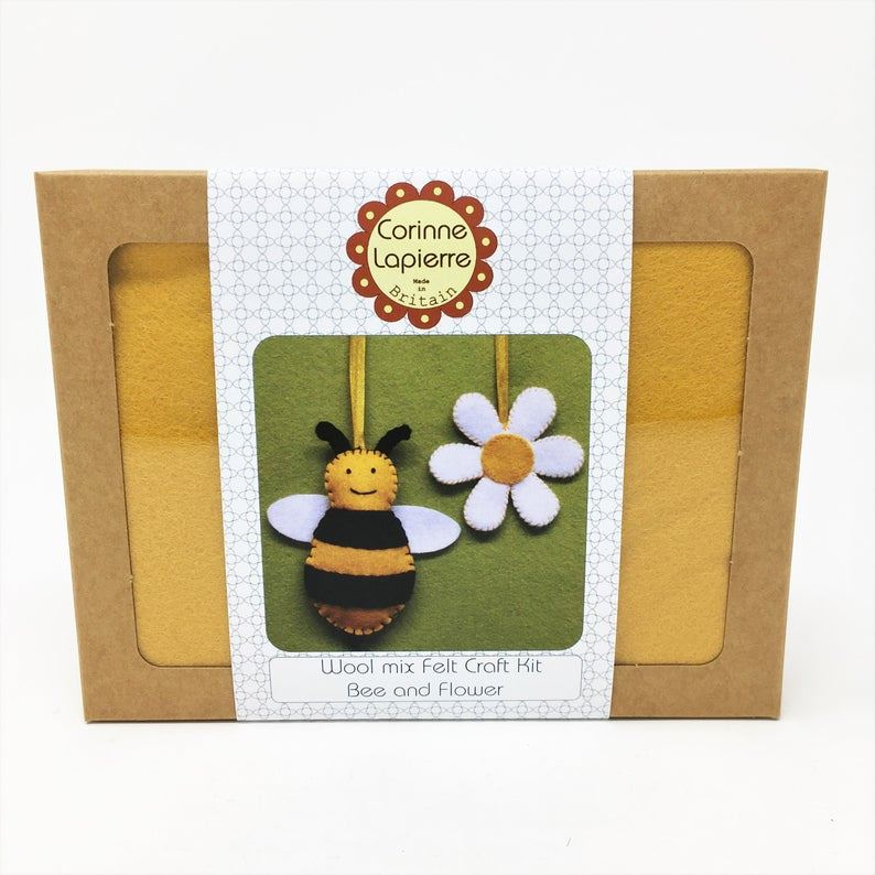 Mini Felt Kit Bee and Flower