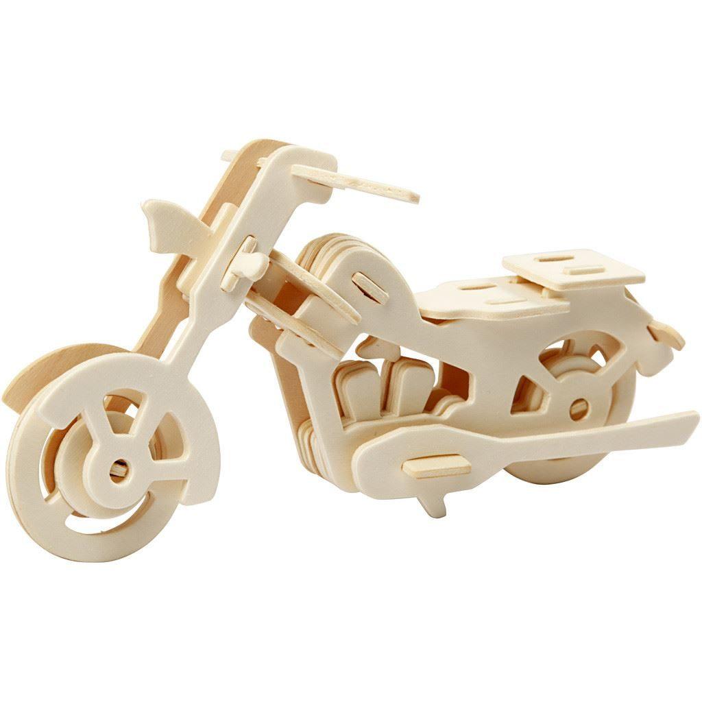 CH580504 Motorbike Wooden Construction Craft Kit