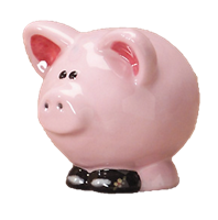 7052 Pig Collectible