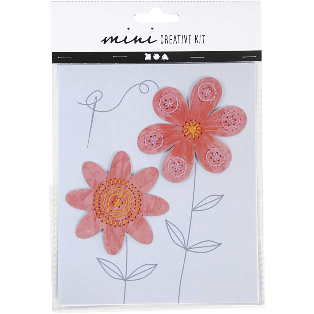 CH977218 Mini Creative Kit - Embroidery (Flowers).1