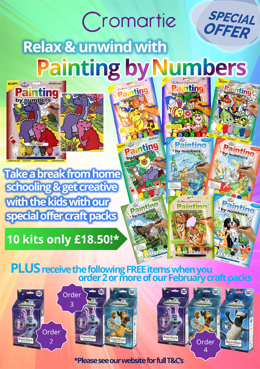 Painting by Numbers Kits Offer