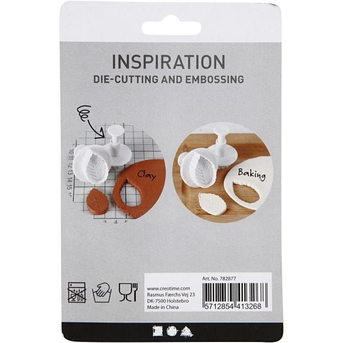 Star Clay Cutters with handle (3 pce)