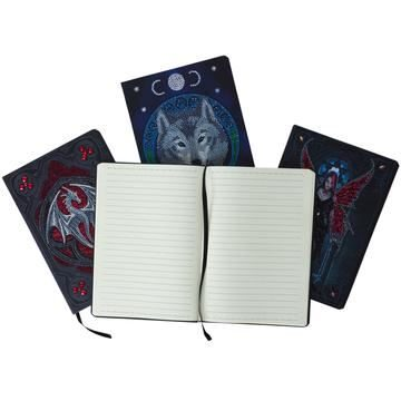 Crystal Art Notebooks by Anne Stokes