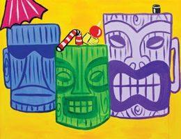 Tiki Room- Canvas Design Pattern Pack