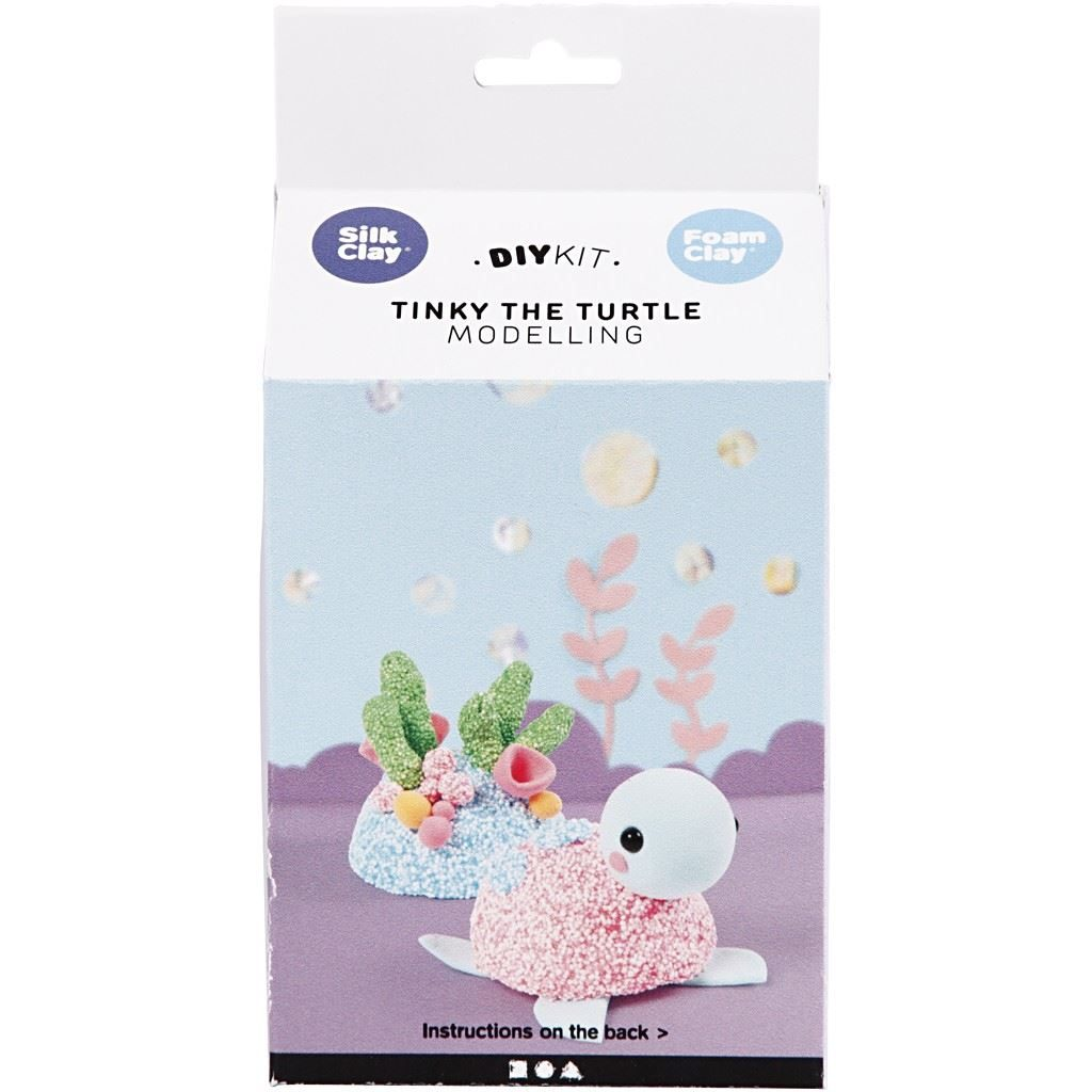Tinky the Turtle Clay Modelling Set box
