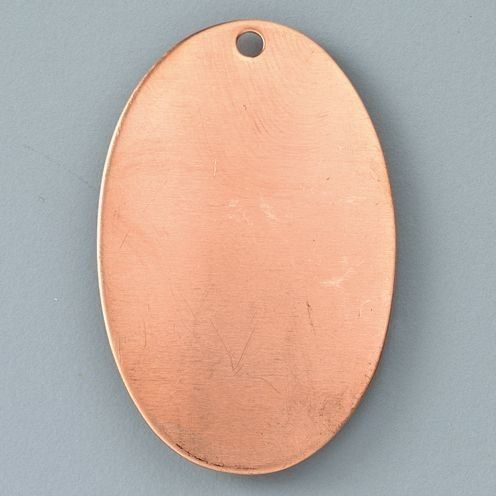 9920342 Oval Pendant- Enamelling Accessories