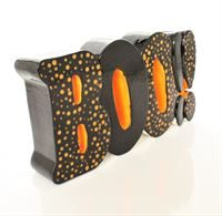 Boo! Word Plaque