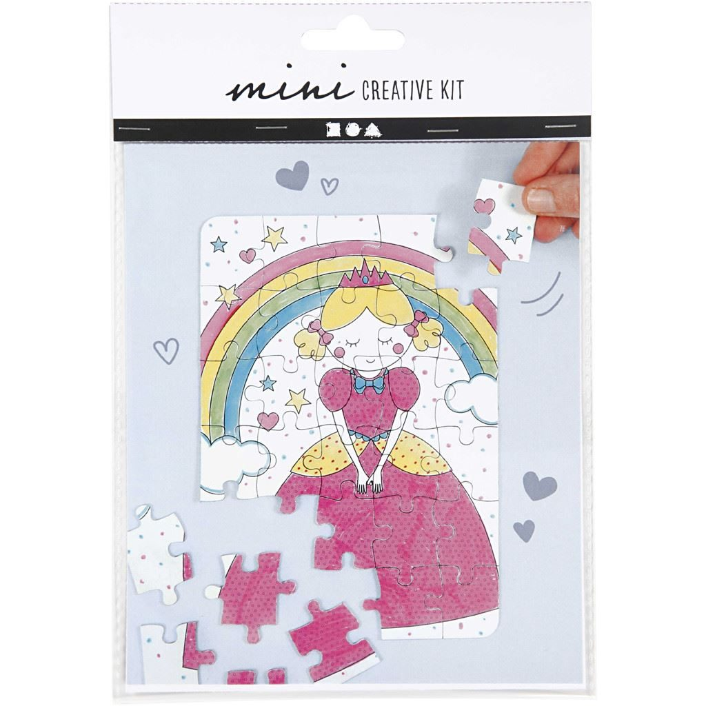 CH977213 Mini Creative Kit - Jigsaw Puzzle (Princess)2