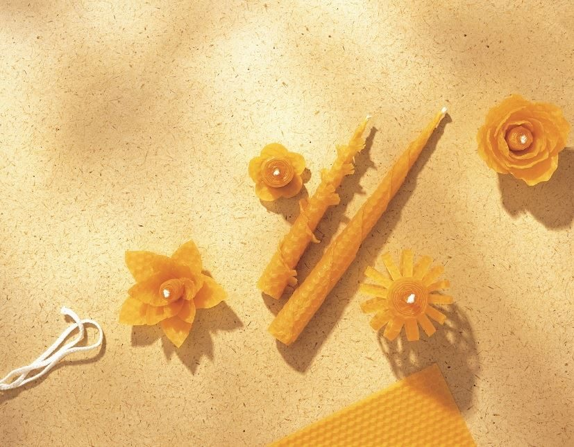 Beeswax Candle Kit candles