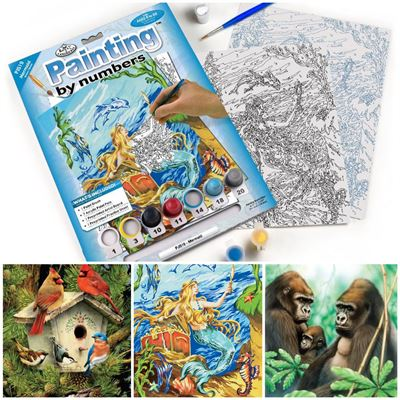 Painting by Numbers Art Drawing Painting Kits