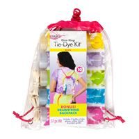 Neon Tie Dye Backpack Kit