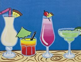 It's 5 O'Clock Somewhere- Canvas Design Pattern Pack