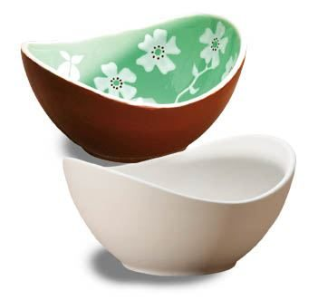 """SMALL SWOOP BOWL 6 1/4""""D"""