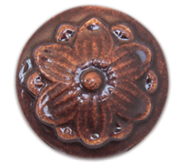 HC562 Chestnut Terra Bella Reactive Glaze