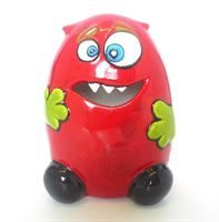 7324 Benjamin the Hungry Monster Bisque Money Bank
