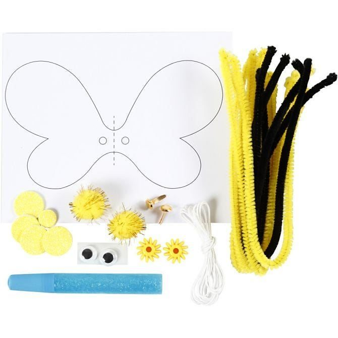 CH977435 Mini Creative Kit - Toilet Roll Bouncing Bee, reverse