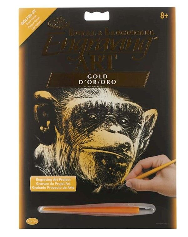 GOLF30-Almost Human Gold Engraving Kit outer