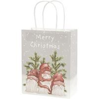 Christmas Paper Bag (3 pc) Sleepy Santas