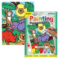MFP9 Jungle Animals Painting by Numbers
