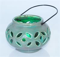 Hanging Lantern with Wire Handle