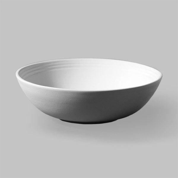 Stoneware Rimmed Bowl