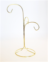 Three Hook Ornament Display Stand (9 Inch)