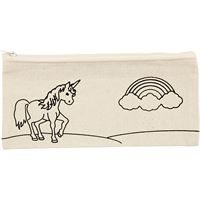 Unicorn Natural Pencil Case